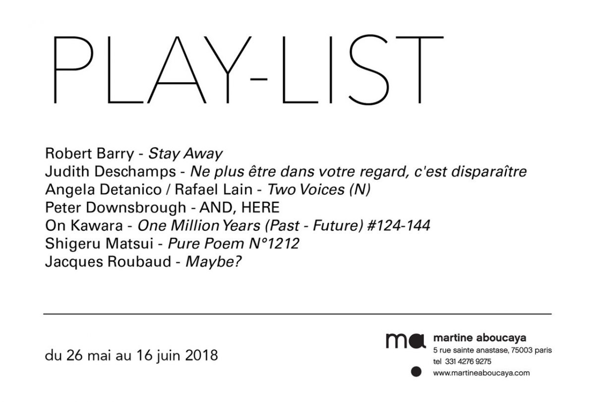 PERFORMANCE「PLAY-LIST」