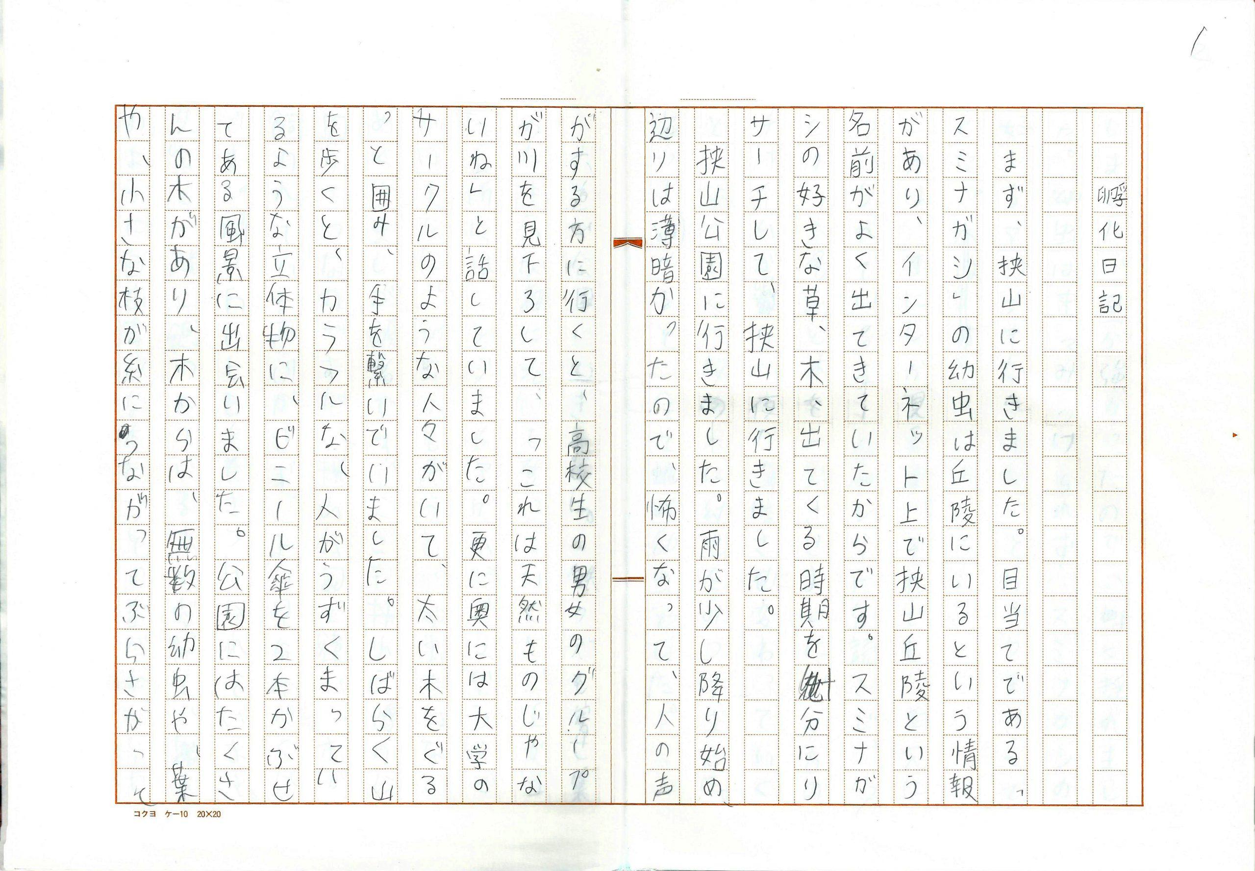 青柳菜摘《孵化日記》
