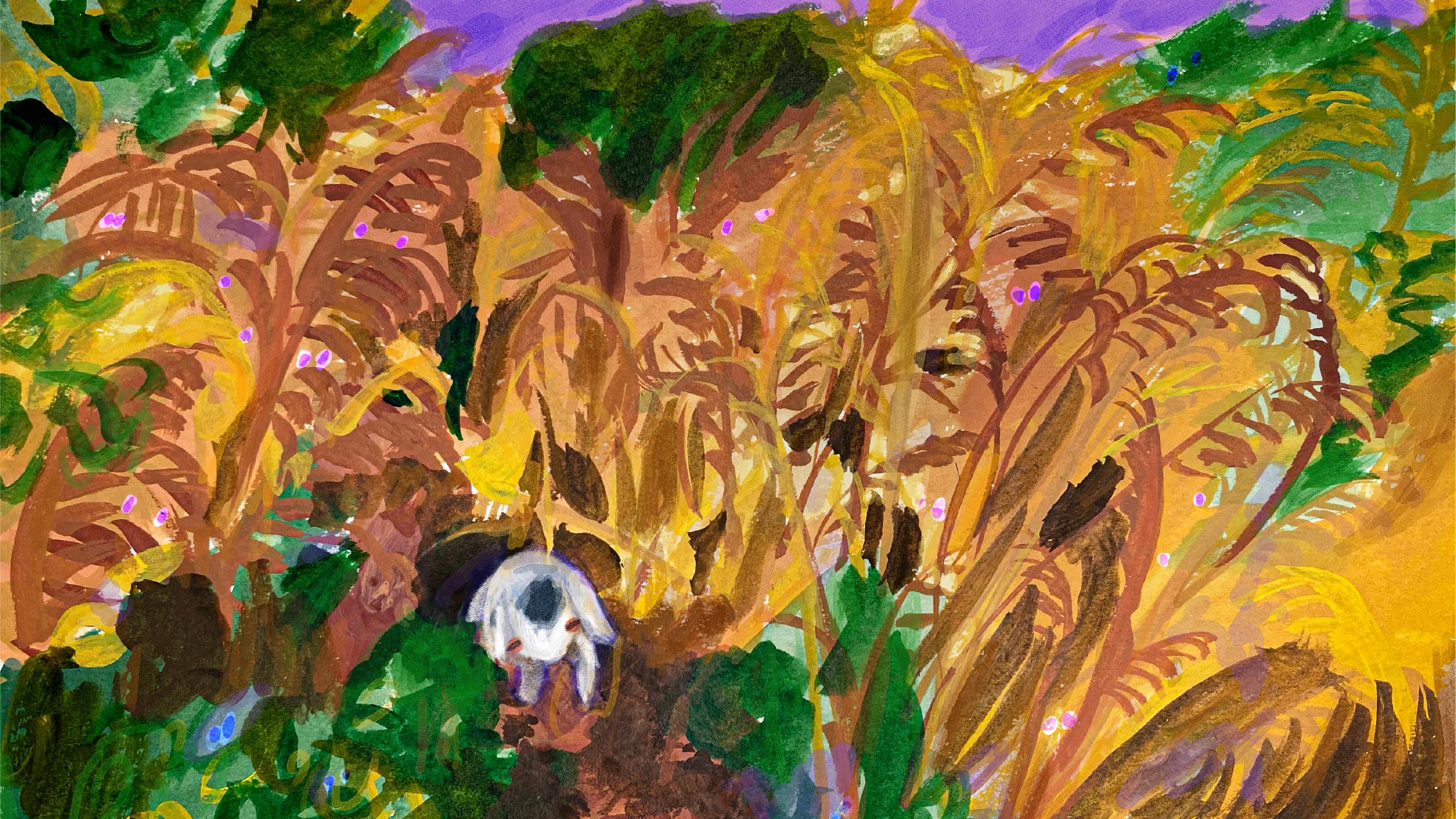 だつお個展「アトミック蒸留所の山羊」
